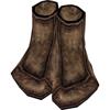 Иконка 'Промасленные льняные туфли'