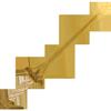 Иконка 'Подержанный золотой короткий меч'