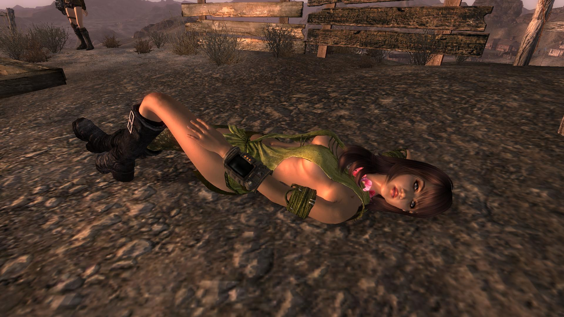Free fallout new vegas porn naked pic