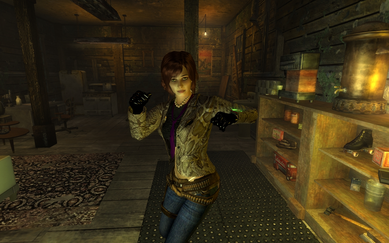 Fallout 3 как установить прически