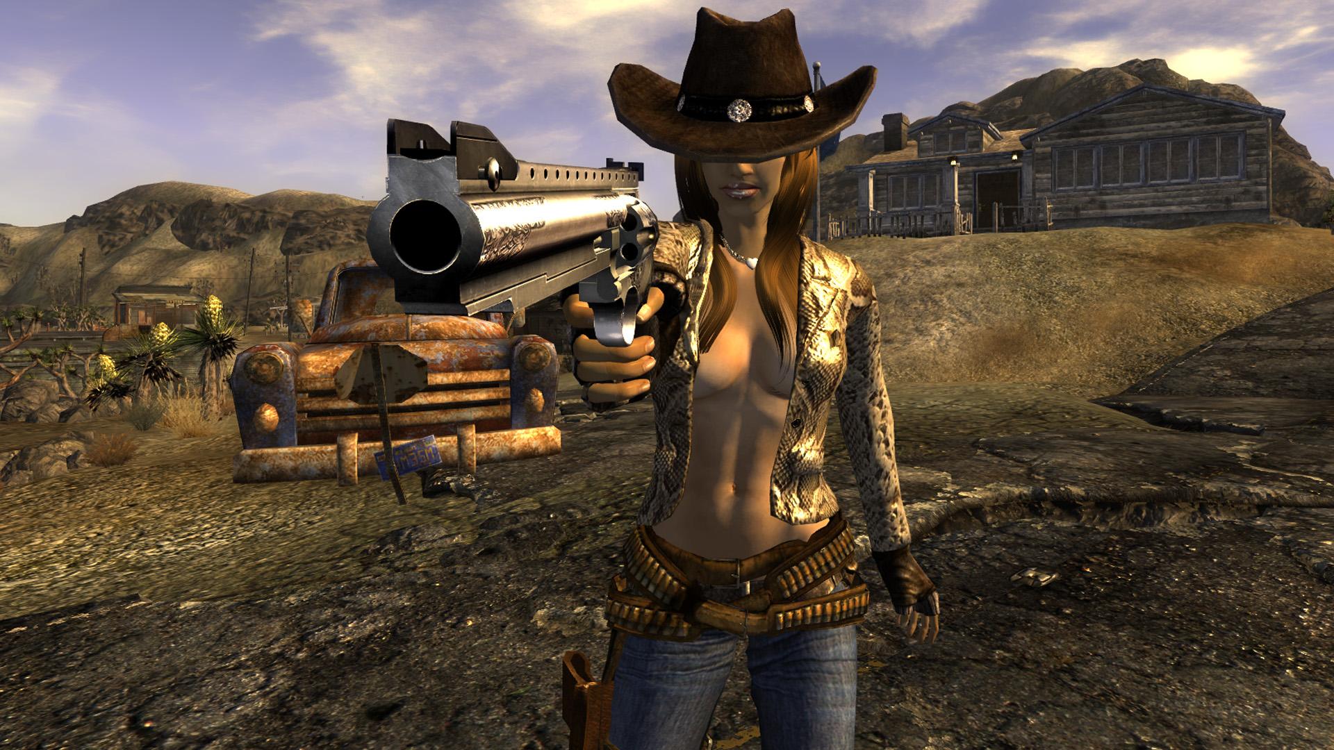 Fallout new vegas мод на секси одежду