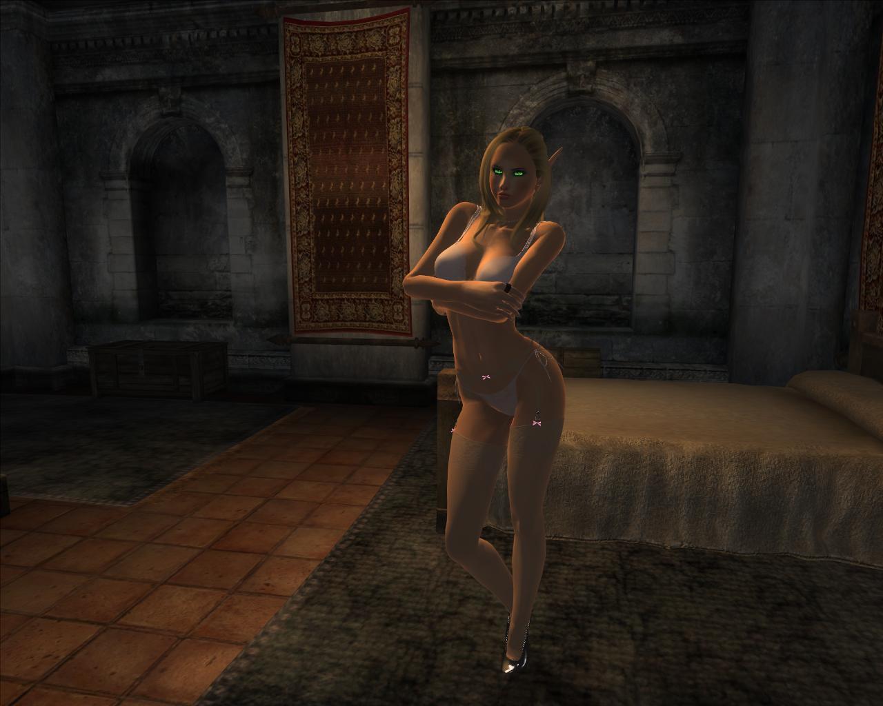 Сексуальное бель обливион