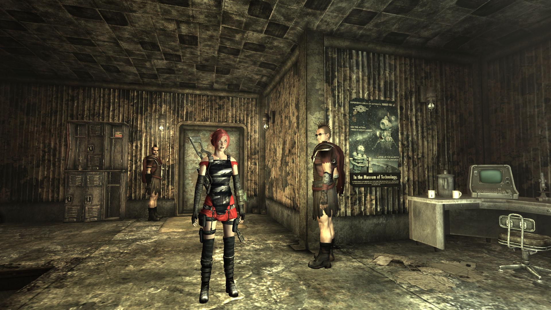 Fallout 3 new vegas секси броня